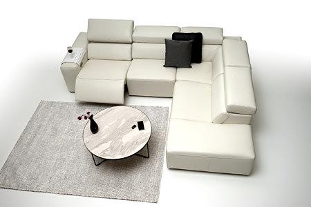 Grace - nowoczesny biały narożnik pomysł na wystrój salonu - TC meble na zamówienie Wrocław
