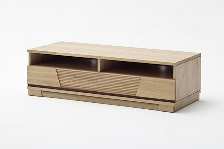 Hatillo szafka dębowa rtv z jasnego drewna dębowego