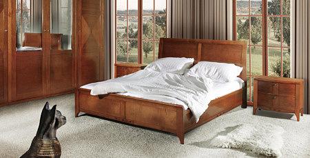 insolito meble klasyczne sypialnia czereśnia amerykańska orzech patynowany mini