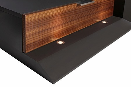 Larix szafka rtv z oświetleniem