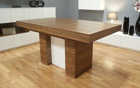 Nowoczesny stół na postumencie