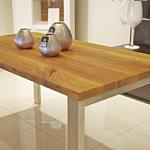 nowoczesny stół z litego drewna dębowego