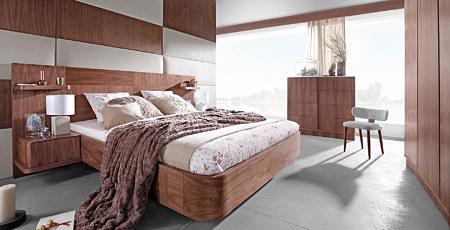 ovo aranżacja wystroju nowoczesnej sypialni jasne wnętrze mini