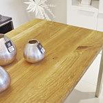 stół dębowy z litego drewna nowoczesny współczesny design