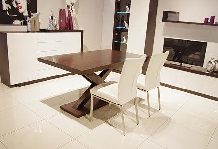 stół do współczesnej jadalni i nowoczesnego wnętrza