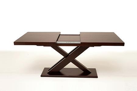 Tytus nowoczesny stół dębowy w stylu modern rozkładany blat