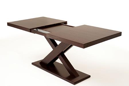 Tytus rozkładany stół dębowy nowoczesny moder liera x