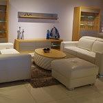 Nowoczesny zestaw sof