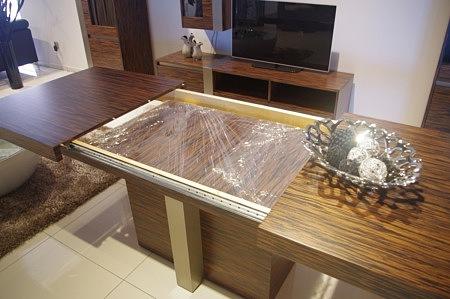 Rozkładanie stołu