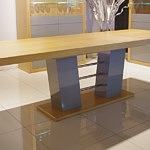 stół cyprian rozłożony