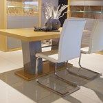 stol nowoczesny z rurkami