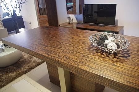 Stół z wkladką