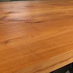 Bazalt drewniany blat stołu dębowego