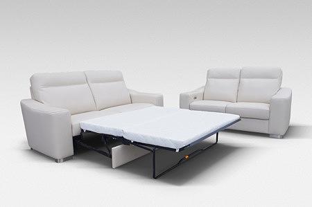 Bolero - sofa z funkcją spania codziennego, wygodne spanie z mechanizmem typu sedak belgijka belgijskiego