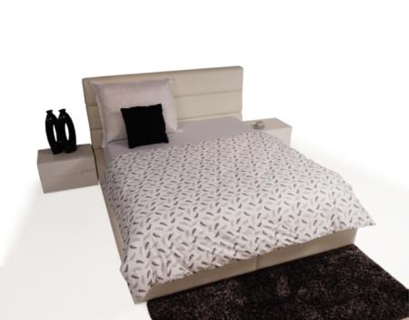 Luna łóżko do sypialni z zagłówkiem