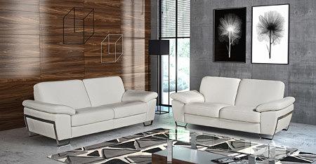 Modern2 białe sofy do salonu przykładowa aranżacja wizualizacja inspiracja
