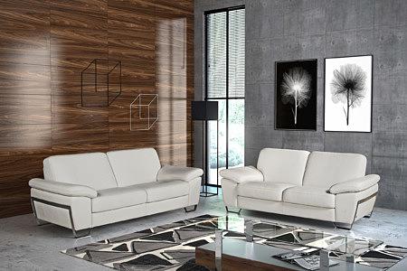 Modern2 ekskluzywne białe nowoczesne sofy w eleganckim salonie aranżacja