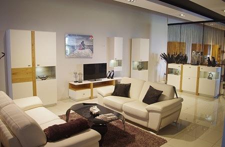 białe meble nowoczesne