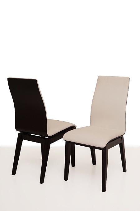 belissa eleganckie nowoczesne krzesło z wyprofilowanym oparciem