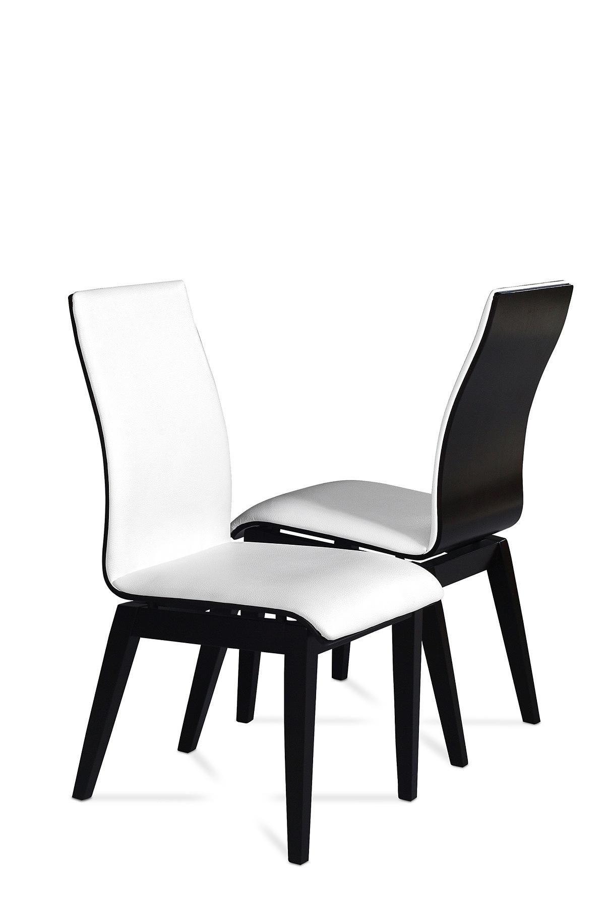 Belissa Krzesło Do Salonu I Jadalni Skórzane Krzesło W Kolorze Venge Ze Skóry Naturalnej