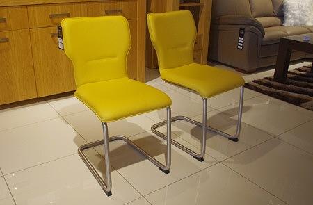 krzesla zolte