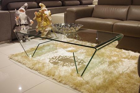 Manor ława szklana transparentna przezroczysta