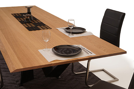 A3 piękny nowoczesny stół do designerskiego salonu lub jadalni