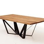 A3 stół drewniany industrialny meble do loftów salonu