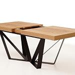 A3 stół rozkładany z metalowymi nogami z blachy gruby blat