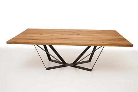 A3 stół z drewnianym blatem do ekskluzywnego salonu wnętrza