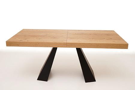 A4 dębowy stół do nowoczesnej designerskiej jadalni