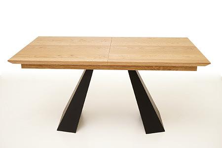A4 stół dębowy do nowoczesnego wnętrza loftu
