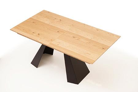 A4 stół drewniany do industrialnego wnętrza loftu