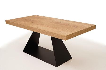 A5 designerski stół z grubym blatem