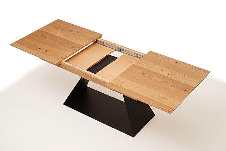 A5 stół rozkładany do jadalni noga metalowa z blachy