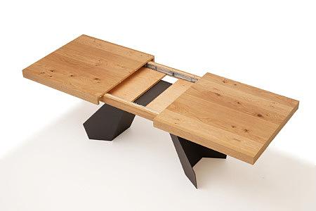 A6 drewniany nowoczesny stół rozkładany
