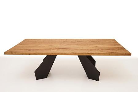 A6 stół do designerskiego wnetrza salonu lub jadalni