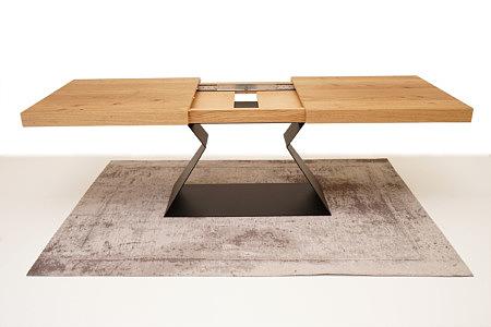 A9 designerski stół rozkładany na jednej nodze