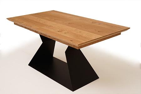 A9 stół z dębowego drewna litego do jadalni i salonu