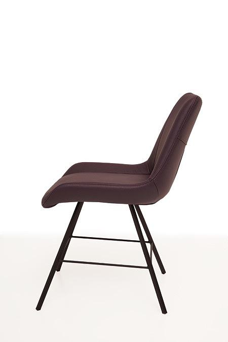 Carmen1 krzesło modern futurystyczne z delikatnymi nogami