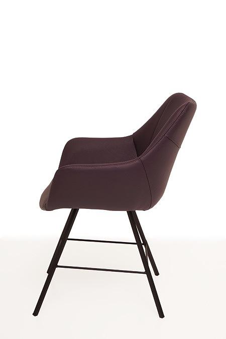 Carmen2 nowoczesne krzesło w stylu skandynawskim