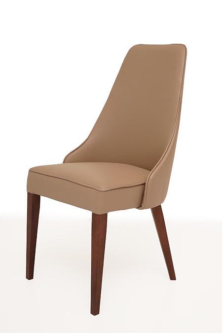 Marcelo krzesło do jadalni z nogami z drewna bukowego