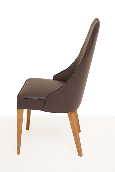 Marcelo nowoczesne krzesło do jadalni z oparciem jak w fotelu