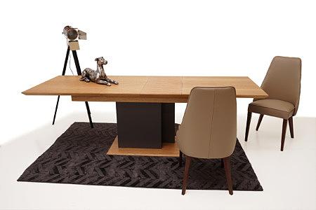 Paris aranżacja inspiracja stół rozkładany do nowoczesnego salonu