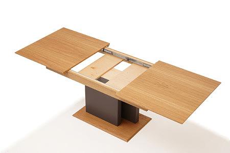Paris nowoczesny stół dębowy rozkładany na jednej nodze