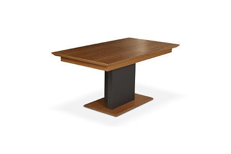 Paris stół Modern na jednej nodze okleina dębowa