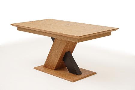 Sydney - modernistyczny stół nowoczesny do salonu, noga w kształcie litery X