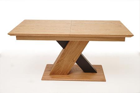 Sydney stół modern rozkładany okleina dębowa z sękami