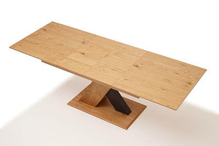 Sydney stół rozkładany w stylu modern dąb z sękami