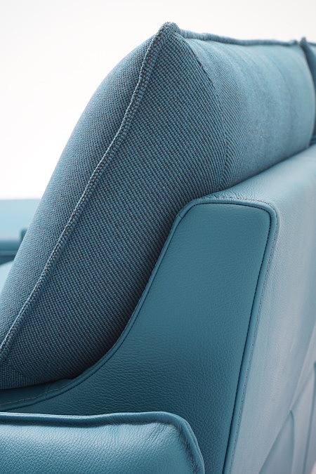 Aviva2 poduszka oparcia sofy w kolorze jesnym morskim